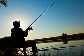 Fishing at Circle H Ranch