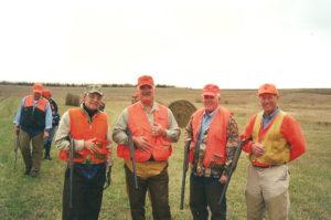 Group hunt at Circle H Ranch