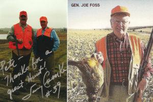 Larry Csonka & General Joe Foss
