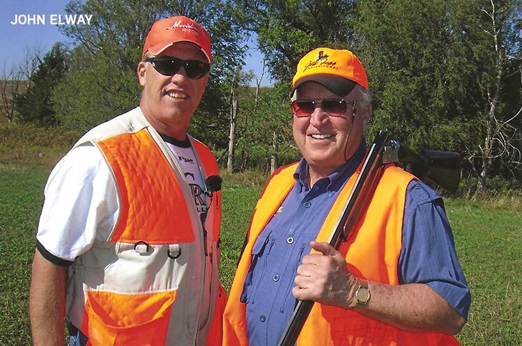 John Elway & Peter Hegg