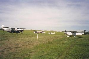 Airport airplanes at Circle H Ranch