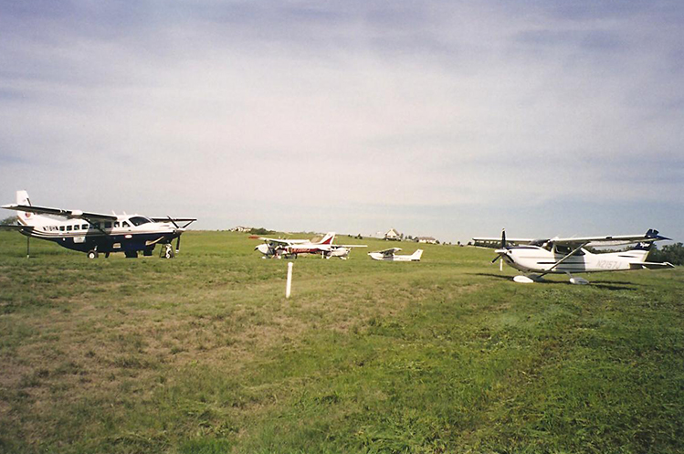 Airport airplanes at Circle H Ranch