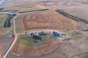 Aerial view of Circle H Ranch