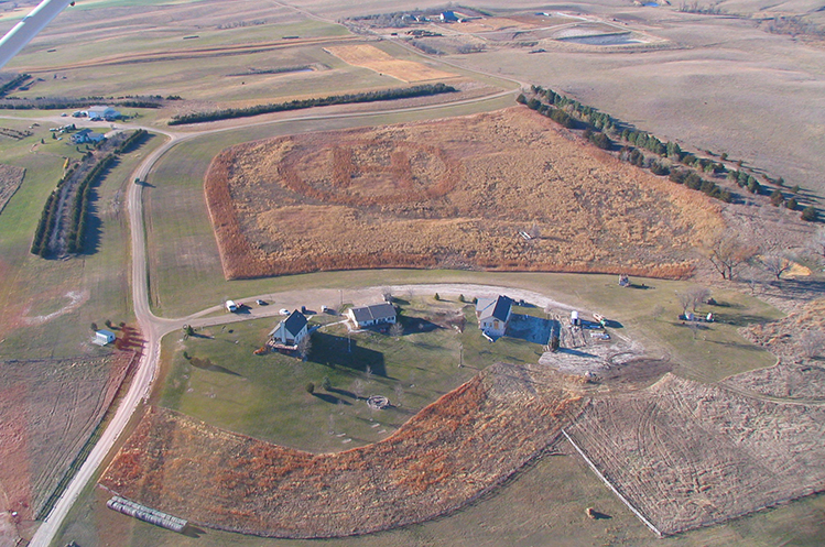 Aerial view of Circle H Ranch