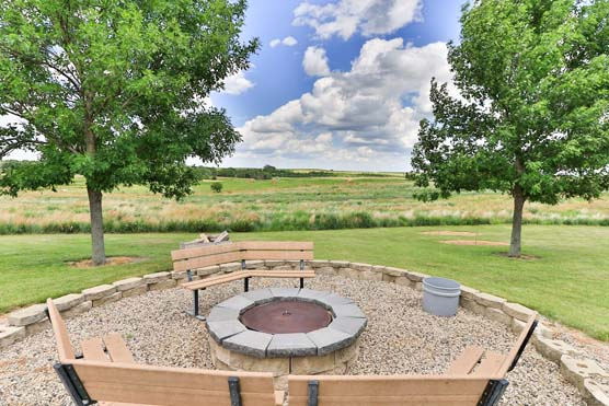 Circle H Ranch - Fire Pit Area