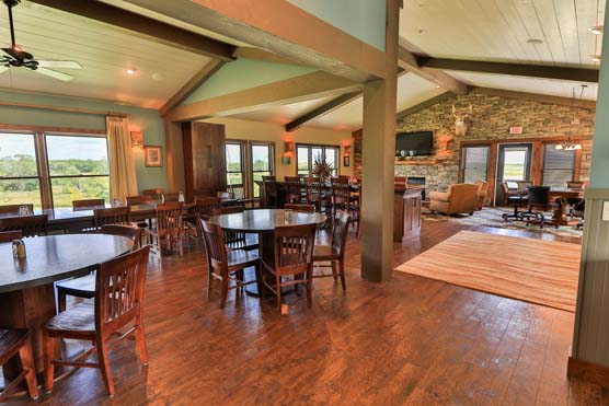 Circle H Ranch - Interior Main Lodge 1