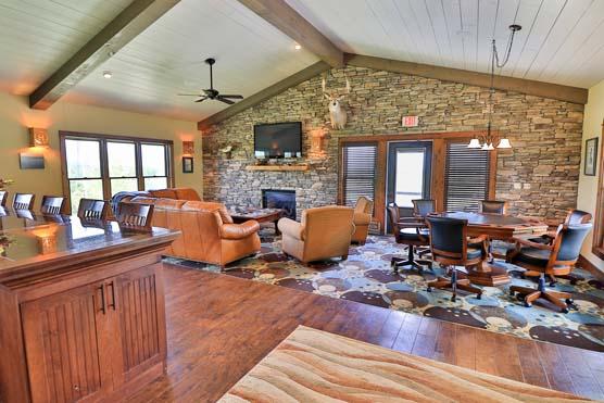 Circle H Ranch - Interior Main Lodge 3