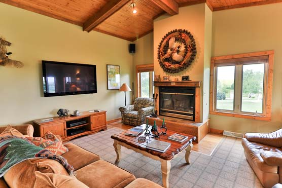 Circle H Ranch - Sorensen Cottage Interior 2