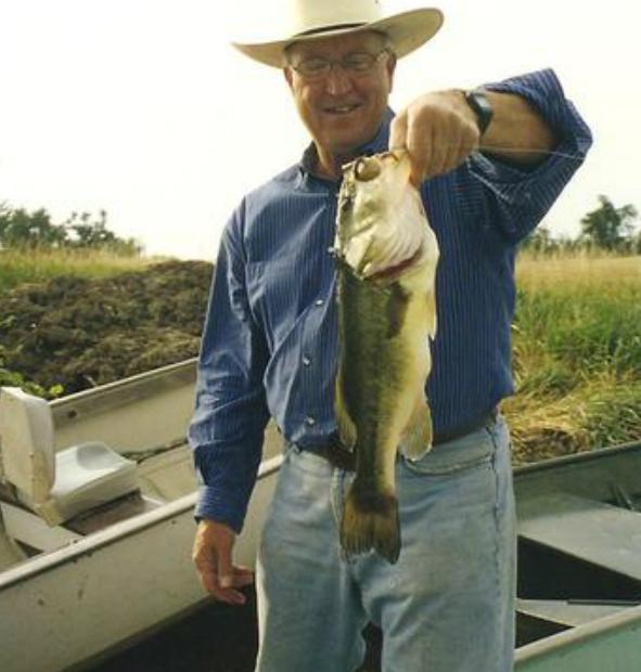 Pete Hegg fishing at Circle H Ranch